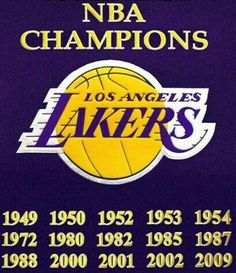 Lakers Championships