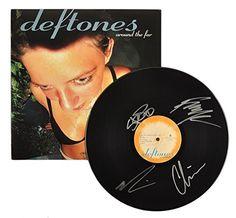 "Deftones - Alternative Metal Band - Autographed ""Around The Fur"" Record JG Autographs, Inc. http://www.amazon.com/dp/B018URXNXK/ref=cm_sw_r_pi_dp_.Hnzwb08SAP0X"