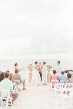 Photography: 1313 Photography - 1313blog.com  Read More: http://www.stylemepretty.com/2014/02/11/preppy-key-west-beach-wedding/