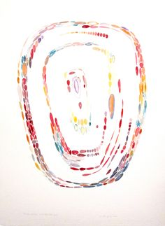 Molte gioie vivaci cm 56 x 76  Tecnica acquerello e grafite Anno 2012