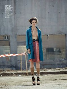 """""""The Street"""" Manon Leloup for L'Express Styles April 2015"""