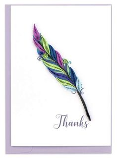 Create-a-Quill DIY Quilling Card Kit Poppy