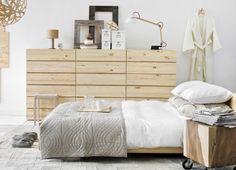 Slaapkamer in Scandinavische Stijl. More