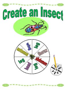 Free Create an Insect Printable Game