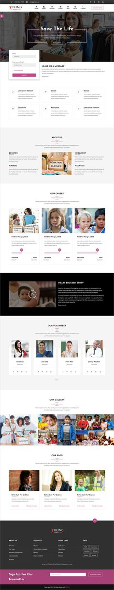 BetterLife - Church \ Religious HTML template with Visual Page - ngo templates