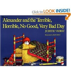alexander and the terrible horrible, no good, very bad day