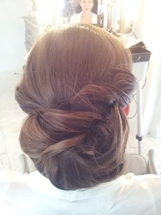 1000 images about coiffure mariage on pinterest chignon bas chignons and coiffures Chignon mariee bas