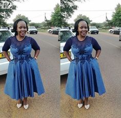 Traditional Attire 2019 For South African Women Setswana Traditional Dresses, African Traditional Wedding Dress, African Wedding Dress, African Attire, African Wear, African Women, African Dress, African Print Fashion, African Fashion Dresses