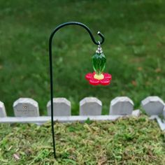 Miniature Hummingbird Feeder by TheEnchantedAcorn.etsy.com