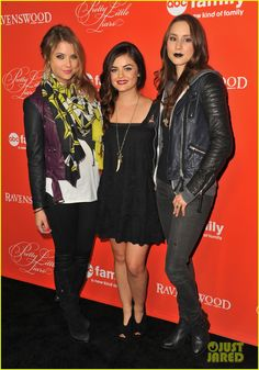 Ashley Benson & Lucy Hale: 'Pretty Little Liars' Halloween Screening!   Ashley Benson, Lucy Hale, Sean Faris Photos   Just Jared