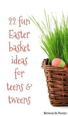 Easter basket ideas for teen girls basket ideas easter baskets stumped on what to put in your older kids easter baskets these 22 fun negle Image collections