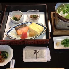Breakfast in Kyoto