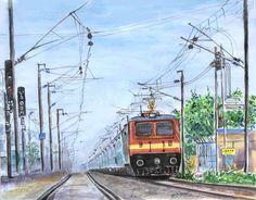 Chennai Express.. water color