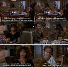 Sleepless In Seattle. Best Movie Quotes, Tv Show Quotes, Cute Quotes, Meg Ryan Movies, Lee Marvin, Sleepless In Seattle, Romantic Films, Funny Scenes, Movie Lines