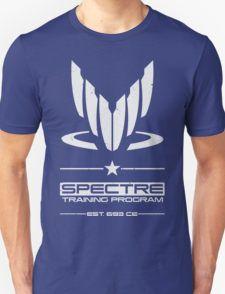 Spectre Training Program - White Unisex T-Shirt