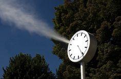 Roman Signer (2012 Clock)