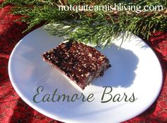 Here it is almost Christmas. Maybe you've just gotten invited to one more quick get-together and feel you should bring something . . . but what? Here's a no-bake recipe for a fairly healthy treat you can whip up in a few minutes and stick in the fridge. It's a take-off of a Canadian candy bar known