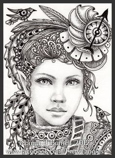 Fairy Tangles: A Couple of Steampunk Ladies
