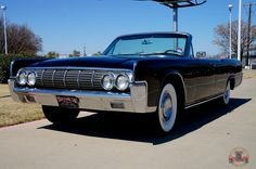 1964 Lincoln Continental Convertible Recently Restored Triple Black