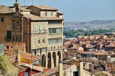 Palacio Episcopal de Tarazona en Aragón