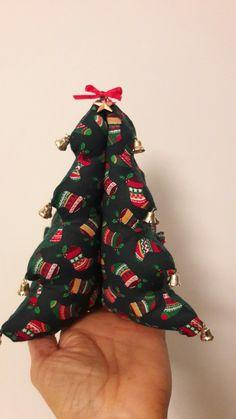 Albero di Natale patchwork.