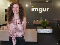 For someone who has become known as 'queen' of her online world, Sarah Schaaf is outright demure. The 30-year-old Schaaf is officially Imgur's head of community -- the voice of users, known as Imgurians, and the ear to their requests.