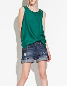 Zara top - One of my favorite colors!