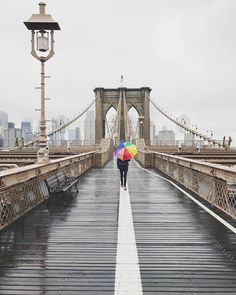 Brooklyn Bridge by @_tamarapeterson - The Best Photos and Videos of New York City including the Statue of Liberty, Brooklyn Bridge, Central Park, Empire State Building, Chrysler Building and other popular New York places and attractions.