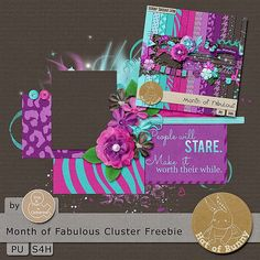 This & That: Freebie: Month of Fabulous and a $1 Kit!