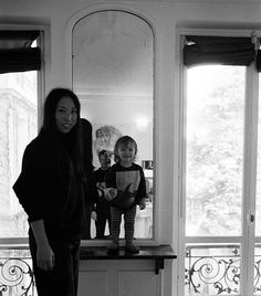 The three of us in Paris, 2016.  Photographer I James Fitzgerald III