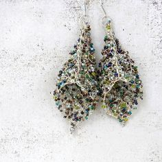 images of wire crochet jewelry | Wire Earrings Crochet Earrings Crochet Jewelry Wire by AlbinaRose,