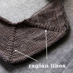 Sweater Techniques Series – Gramps Baby Cardigan – 3 / 6 : Top-Down Sweater Construction Baby Cardigan Knitting Pattern, Knitting Stiches, Baby Knitting Patterns, Baby Patterns, Free Knitting, Creative Knitting, Knit Baby Sweaters, Vogue Knitting, Baby Booties