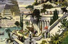 Jardins Suspensos da Babilônia