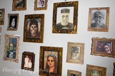 Zombie Party ideas: How to make easy Zombie wall art for Halloween   Hungry Happenings