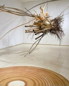 Contemporary Basketry: Suspended Judy Pfaff
