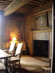 Castel Beynac Dordogne in Perigord France. The cas...