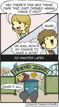 hehehe Friend Zoned