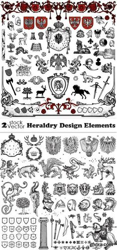Vectors - Heraldry Design Elements