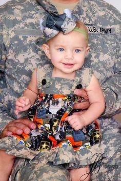 Army Dress. How sweet!