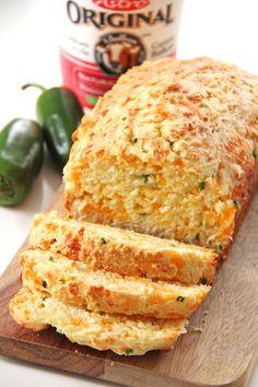 Jalapeno Cheddar Quick Bread {A Pretty Life}5