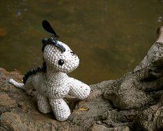 I want this pattern! Cute crochet dinosaur.