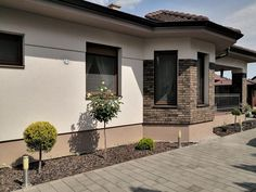 Garden Whimsy, Facade House, Design Case, Home Renovation, House Colors, Exterior Design, House Plans, Pergola, Sweet Home