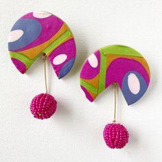 Patterns For Daze Earrings - Polymer Clay - Jennifer Perkins