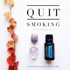 A NATURAL AND HOLISTIC WAY TO HELP YOU QUIT SMOKING, USING ESSENTIAL OILS AND HEALING CRYSTALS