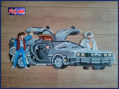 Back to the Future hama beads by Pix'L'and
