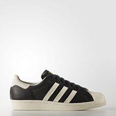 Adidas Superstar 80S Shoes Men'S Black