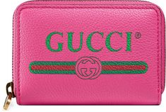 bb2cd5115c8a Gucci Print leather card case #ad #GucciWalletsMens Gucci Wallet, Leather  Card Case,