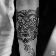 Image result for mandala black and white panda