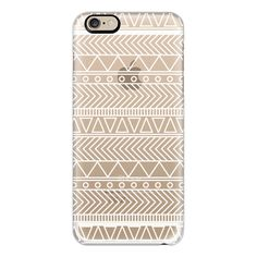 Tribal Coachella White - iPhone 6s Case,iPhone 6 Case,iPhone 6s Plus... (53 AUD) ❤ liked on Polyvore featuring accessories, tech accessories, phone cases, phone, cases, electronics, iphone case, tribal print iphone cases, white iphone case and apple iphone cases