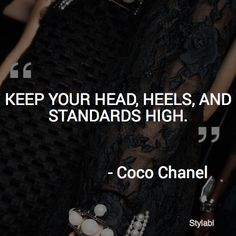 Stylabl Words #quote #cocochanel
